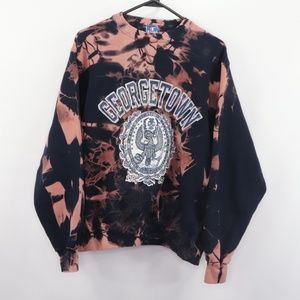 Vintage Champion Georgetown Acid Wash Sweatshirt